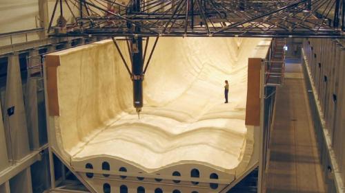 بزرگ ترین دستگاه سی ان سی جهان بلند تر از یک زمین فوتبال